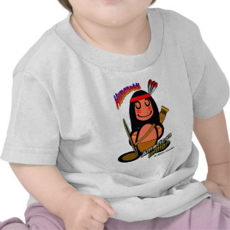 American Indian with logos T Shirts