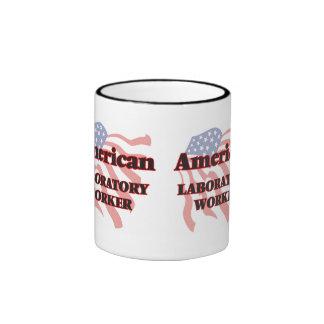 American Laboratory Worker Ringer Mug