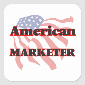 American Marketer Square Sticker