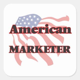 American Marketer Square Sticker