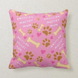 American Mastiff Dog Breed Mom Gift Idea Cushion