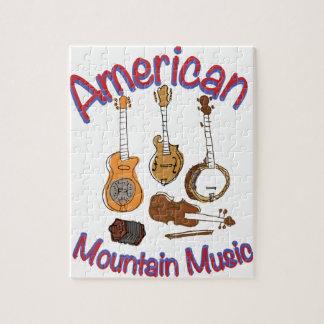 American Mountain Music Jigsaw Puzzle