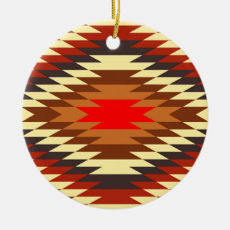 american native traditional ethnic costume motif christmas ornament