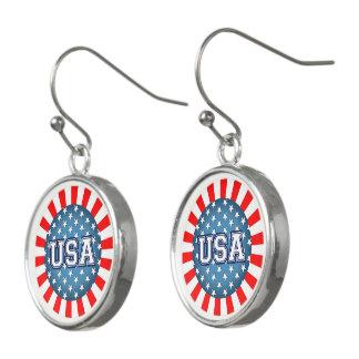American Patriot Earrings