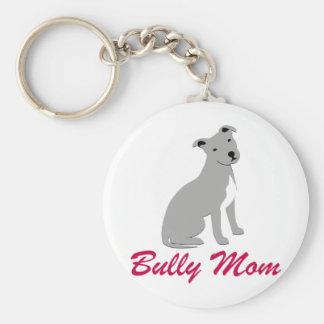 American Pit Bull Terrier Bully Mom Key Ring