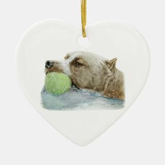American Pit Bull Terrier Christmas Ornament