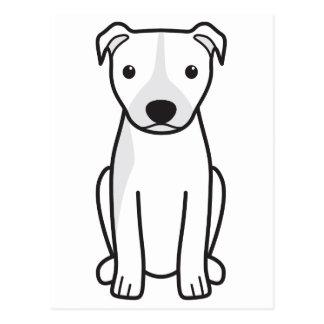 American Pit Bull Terrier (Natural Ears) Postcard