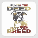AMERICAN PITBULL AF3 PUNISH THE DEED STICKER
