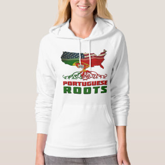 American Portuguese Roots Hoodie