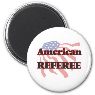 American Referee 6 Cm Round Magnet