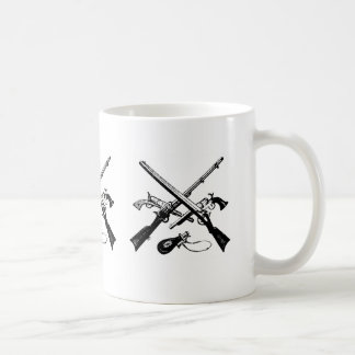american revolution ammunition on a coffee mug