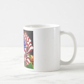 American Rose Flag Basic White Mug