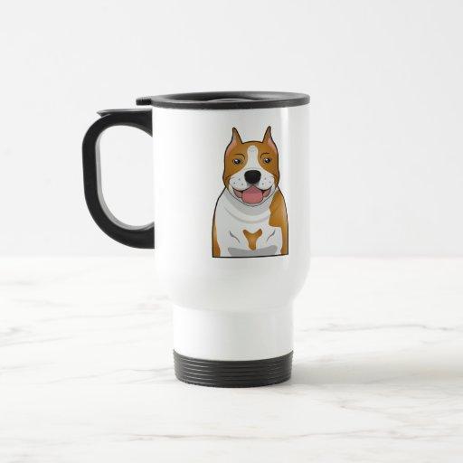 American Staffordshire Terrier Cartoon Mug
