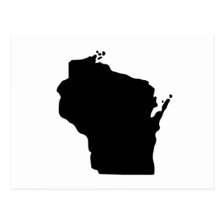 American State of Wisconsin Postcard
