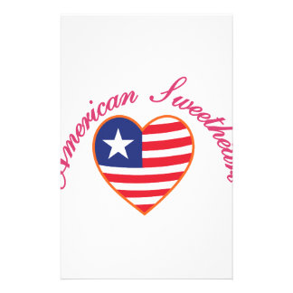 American Sweetheart Stationery