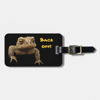 American Toad Luggage Tag