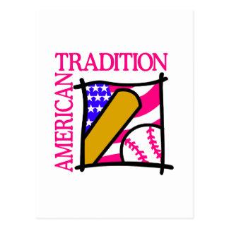 American Tradition Postcard
