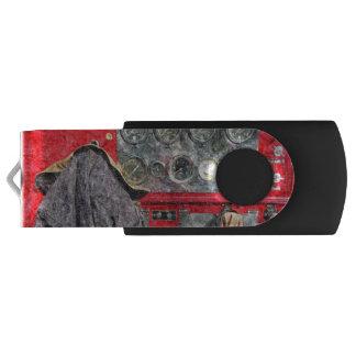 Americana Fire Truck USB Flash Drive
