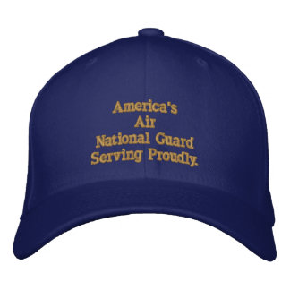 America's Air National Guard. Embroidered Hat