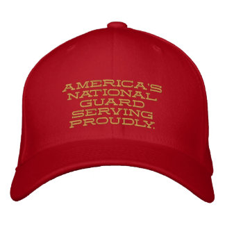 America's National Guard. Embroidered Cap
