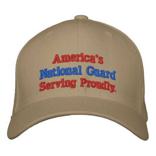 America's National Guard. Embroidered Hat