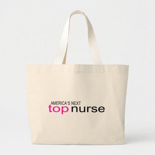 Americas Next Top Nurse Jumbo Tote Bag