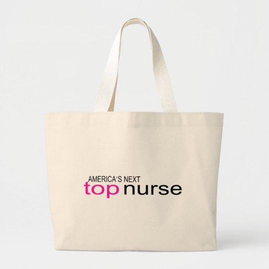 Americas Next Top Nurse Large Tote Bag