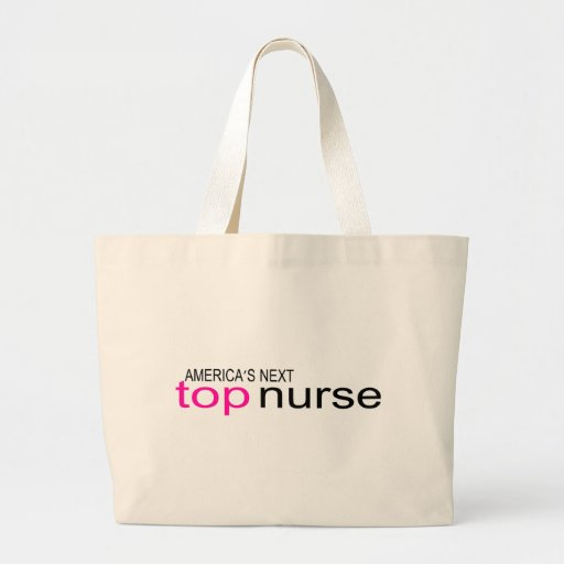 Americas Next Top Nurse Tote Bags
