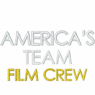 AMERICA'S TEAM, FILM CREW MENS SHERPA EMBROIDERED SHERPA HOODIE