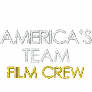 AMERICA'S TEAM, FILM CREW MENS SHERPA HOODIE