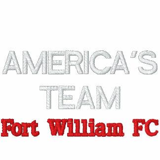 AMERICA'S TEAM, Fort William FC Embroidered Fleece Track Jacket
