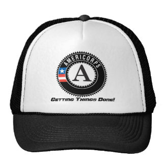 americorps logo, Getting Things Done! Cap