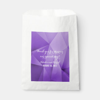 Amethyst Jewel Tones Wedding Favor Bags Favour Bags