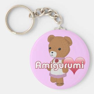 Amigurumi Love Keychain
