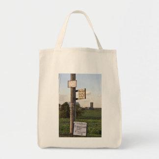 Amish Signs Tote Bag