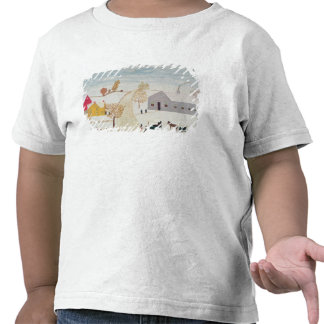 Amish Village Tee Shirts