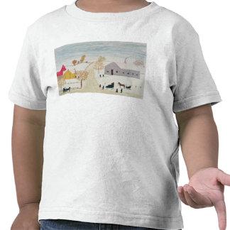 Amish Village Tshirt
