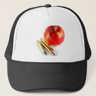 Ammo and Apple Trees Bullets Personal Preparedness Trucker Hat