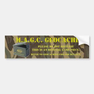 AmmoCan MAGC Cache Sticker Bumper Sticker