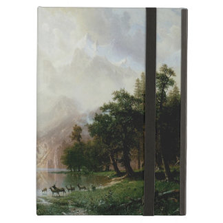 Among the Sierra Nevada Mountains by Bierstadt iPad Air Cover