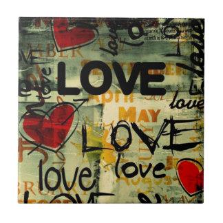 Amor Amor Amor Love Love Love Azulejo