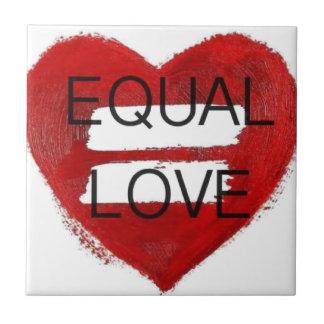 Amor Igual - equal love Ceramic Tile