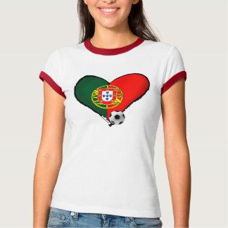Amor, Portugal e Futebol - O que mais vôce quer ? T-Shirt