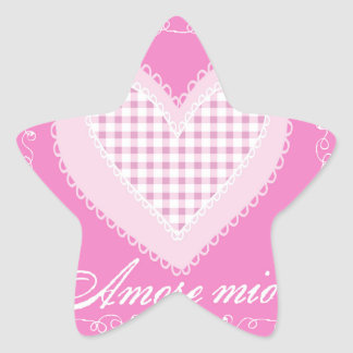 Amore mio star sticker