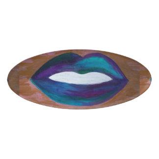 Amorous Office | Lips Kiss XOXO Lipstick Diva Glam Name Tag