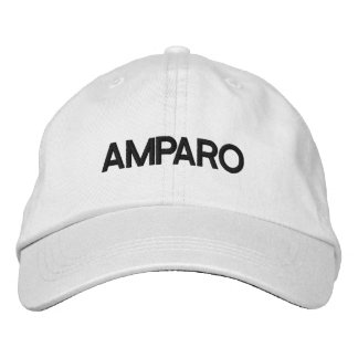 AMPARO HAT DRCHOS.COM CUSTOMIZABLE PRODUCTS EMBROIDERED BASEBALL CAP