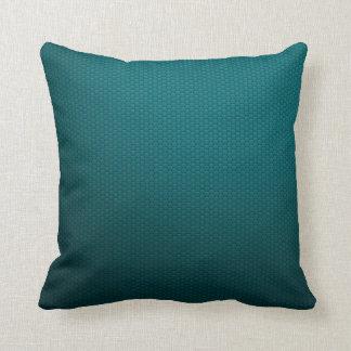Amphibious Blue Green Sport Throw Pillow