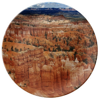 Amphitheater at Bryce Canyon National Park in Utah Plate
