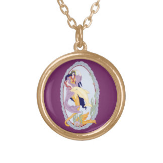 Amphitrite Gold Plated Necklace