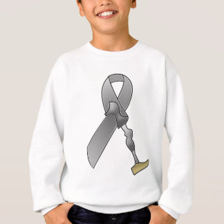 Amputee Awareness Ribbon Sweatshirt
